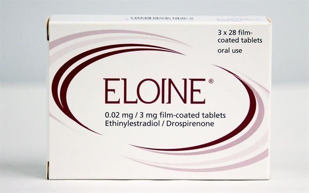Pillola anticoncezionale ELOINE