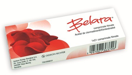 Pillola anticoncezionale BELARA