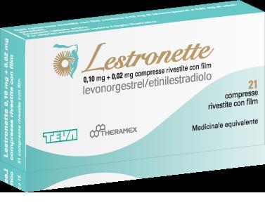 Pillola anticoncezionale LESTRONETTE