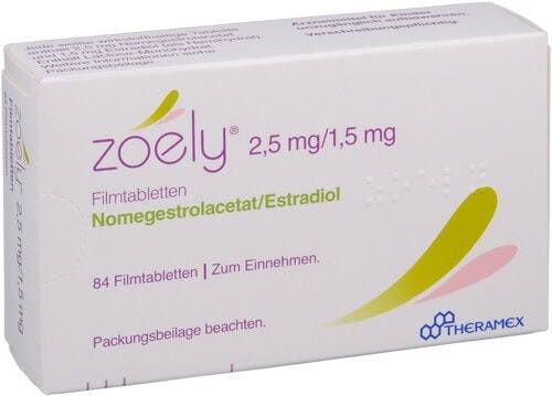 Pillola anticoncezionale ZOELY