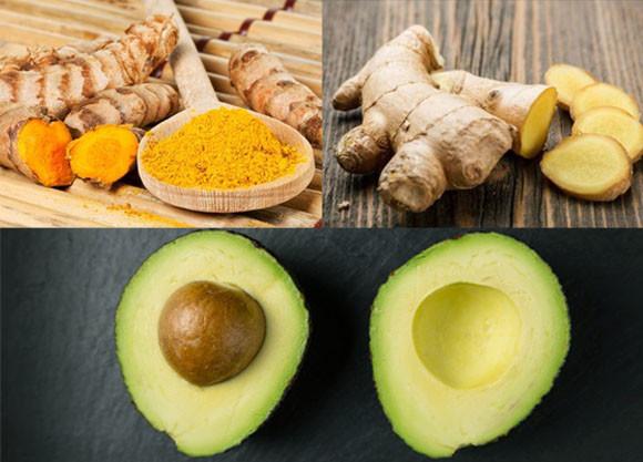 Avocado, curcuma  e zenzero i nuovi alleati della salute