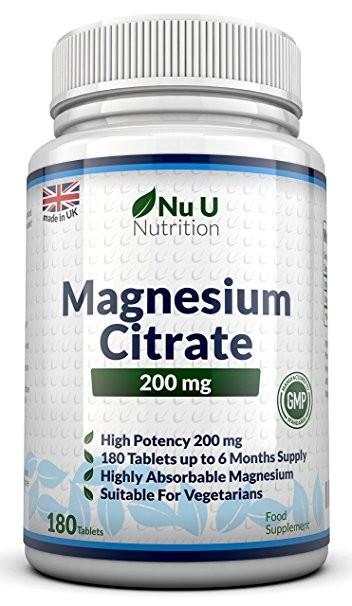 Integratore di magnesio della Nu U Nutrition - recensione e prezzo