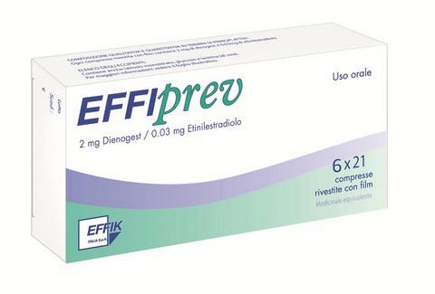 Pillola anticoncezionale Effriprev